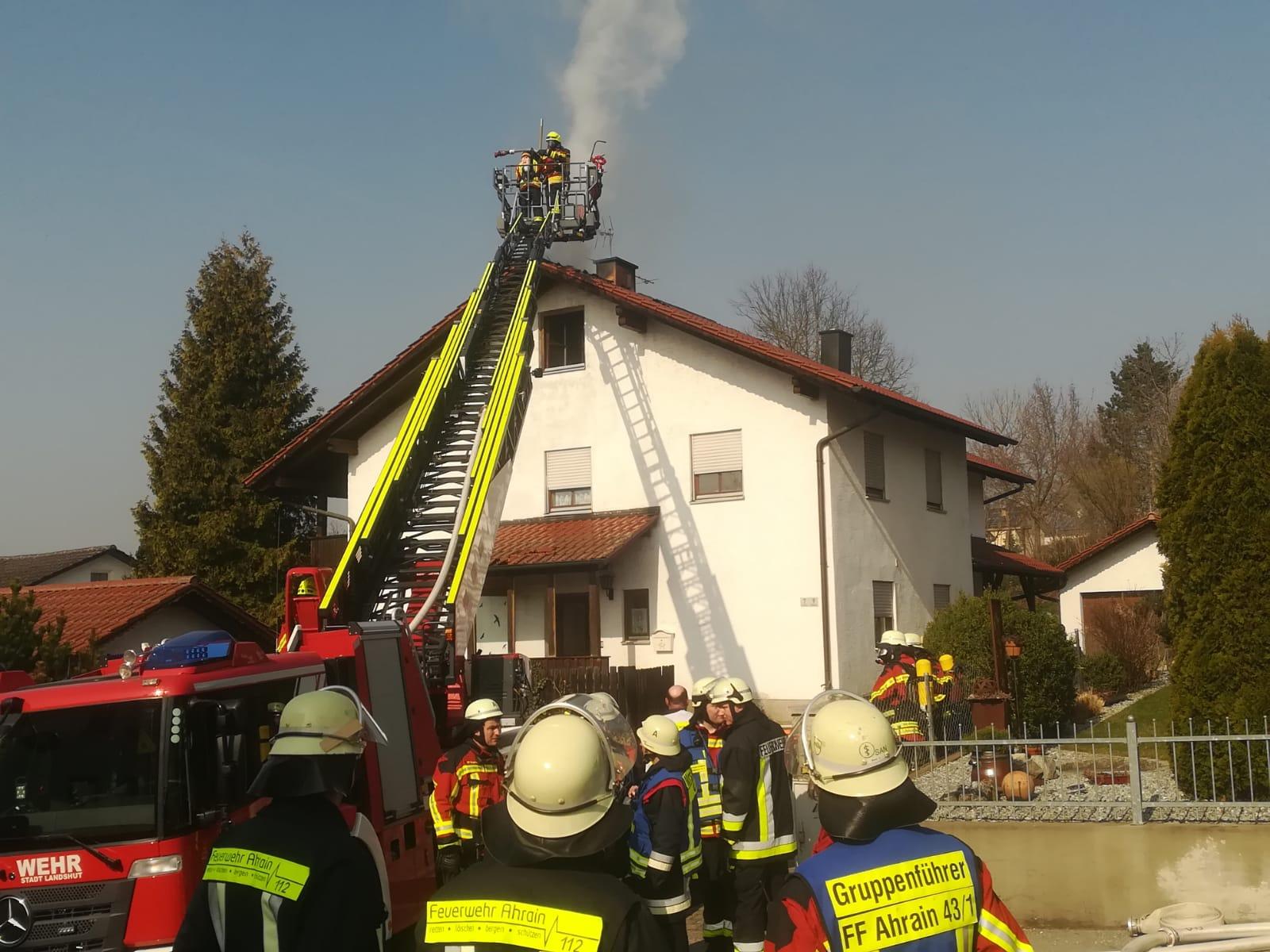 Brand – B3 Dachstuhlbrand